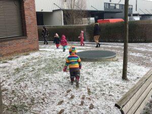 Kita im Schnee